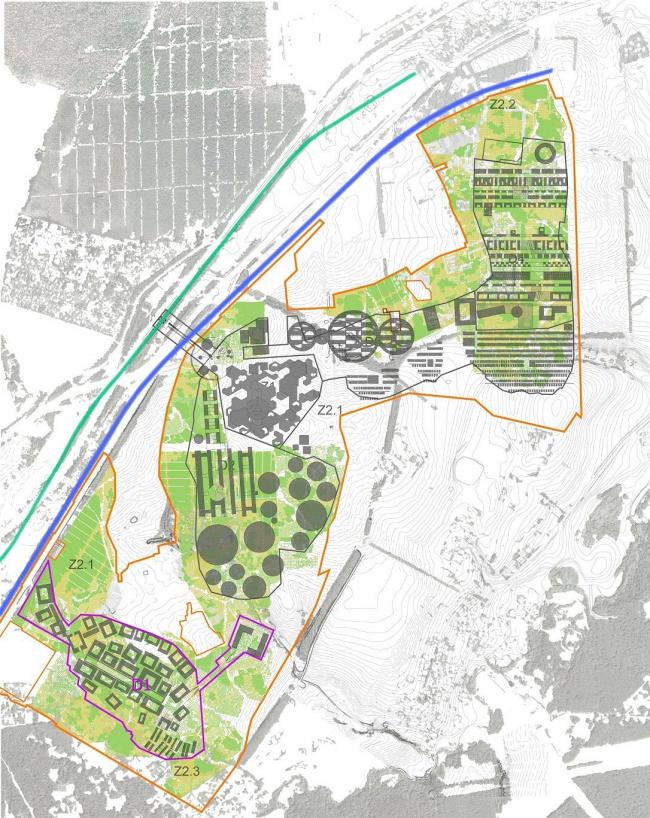 Генеральный план инновационного центра «Сколково». Датировка: октябрь 2011