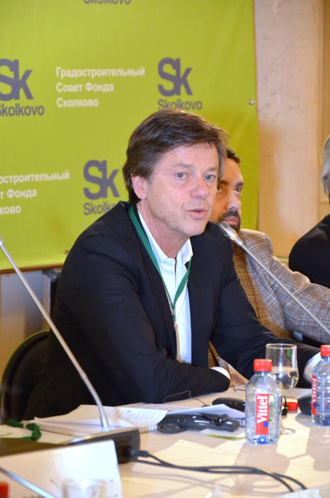 Жан Пистр, Председатель Градостроительного Совета Фонда «Сколково»: