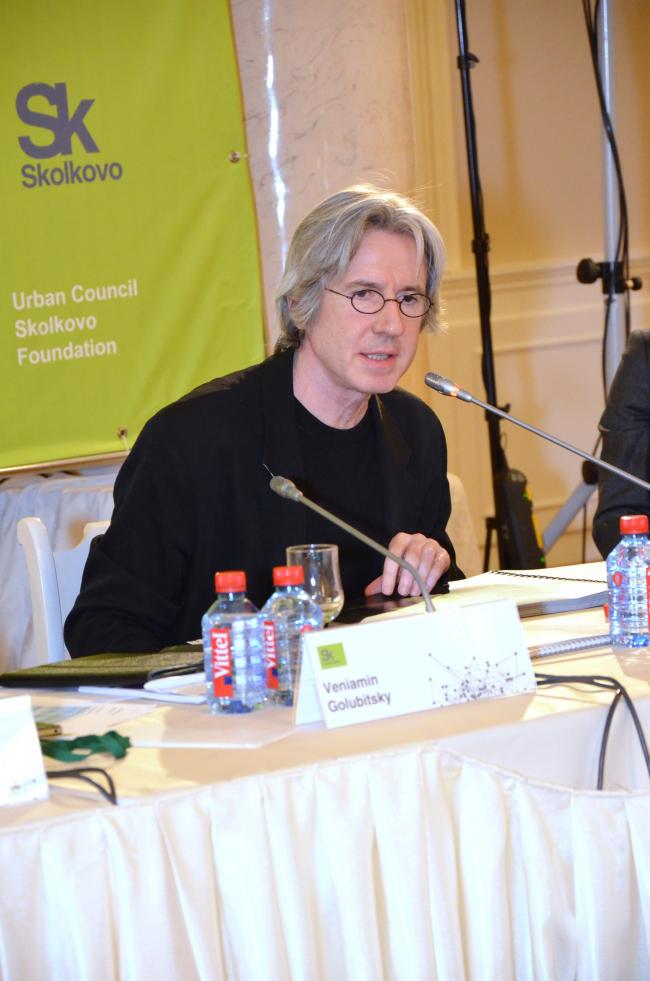 Мишель Девинь, автор проекта ландшафта и благоустройства территории инновационного центра «Сколково»
