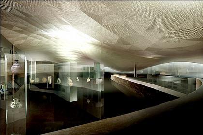 Проект комплекса залов исламского искусства Лувра