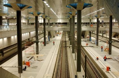 Главный вокзал Берлина. Фото. Современное состояние