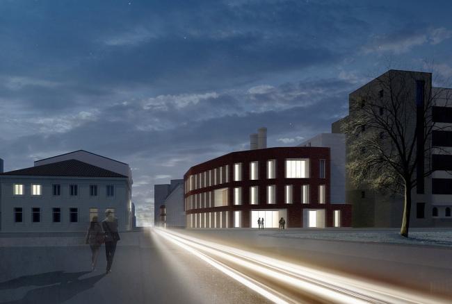Жилой комплекс на улице Льва Толстого © Сергей Киселев и Партнеры