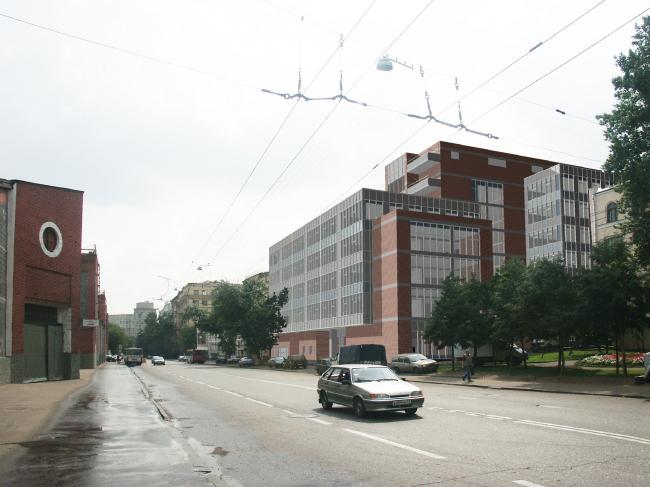 Деловой центр на Новорязанской улице