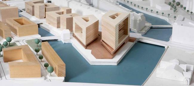 Штаб-квартира издательства Spiegel. © henning larsen architects