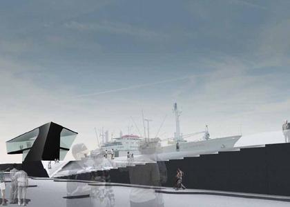 Заха Хадид. Конкурсный проект. Золотая медаль за планировку общественного пространства