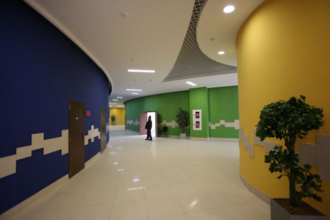 Дворец творчества школьников в городе Астана, республика Казахстан © Архитектурное бюро «Студия 44»