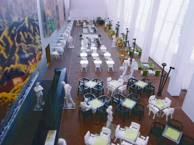 Северный салон делегатов в здании ООН © OMA