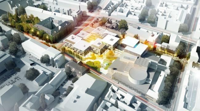 Сад культуры Лейтена © Henning Larsen Architects