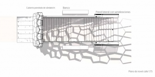 Вход для типовой станции метро в Сан-Себастьяне © Snøhetta