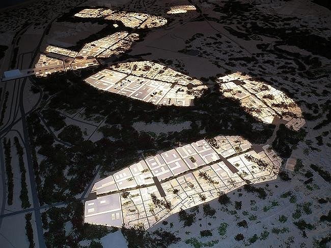 Градостроительная концепция развития иннограда «Сколково». Арх.: AREP (Франция)