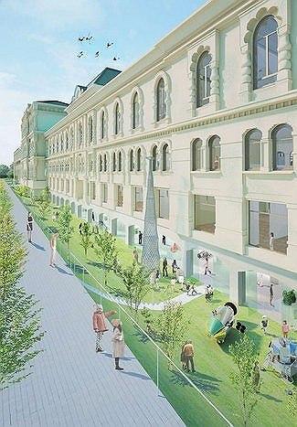 Проект реконструкции Политехнического музея Naoko Kawamura&Junya Ishugami (совместно с ARUP)
