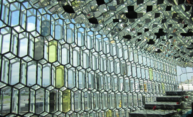 Конгресс-центр и концертный зал Harpa © Henning Larsen Architects