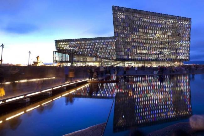 Конгресс-центр и концертный зал Harpa