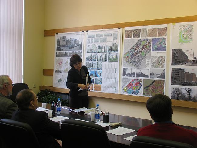 Проект регенерации комплеска Делового центра на Страстном бульваре