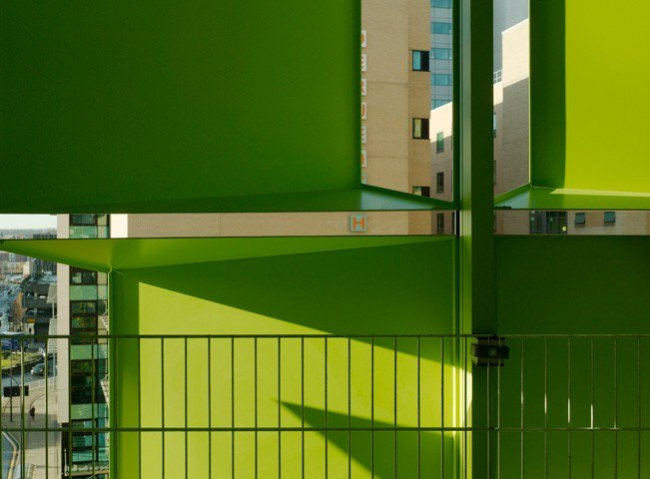 Гараж комплекса Сент-Пол Плейс © Allies & Morrison