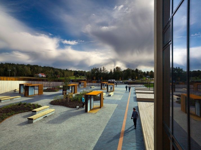 Башня и парк Сольберг. Фото © Saunders Architecture