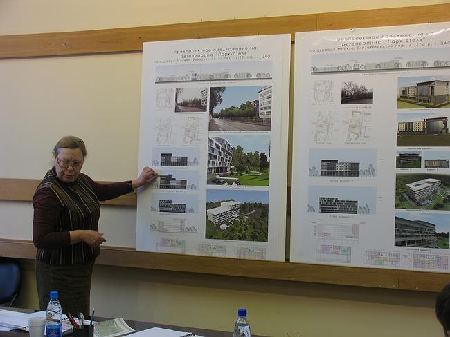 Проект регенерации «Парк-отеля» в Елизаветинском пер.