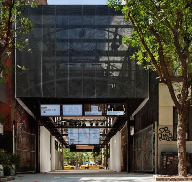 BMW Guggenheim Lab в Нью-Йорке © Solomon R. Guggenheim Foundation