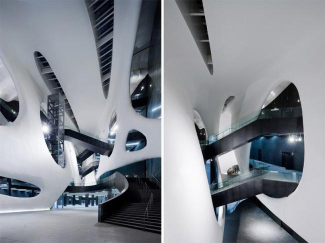 Музей искусств и истории города Ордоса © Iwan Baan
