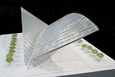 Окончательный проект транспортного терминала ВТЦ в Нью-Йорке