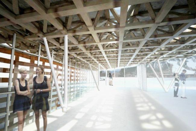 Музей искусств Аспена © Shigeru Ban Architects