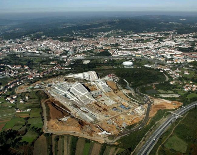 Город культуры Галисии © Fundacion Cidade da Cultura de Galicia