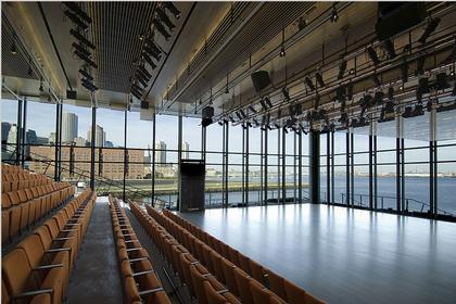 Институт современного искусства. Вид театрального зала. Фото Iwan Baan