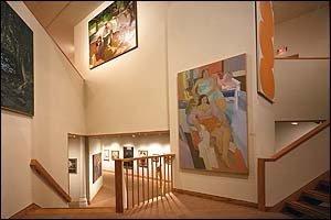 Институт современного искусства. Выставочные залы