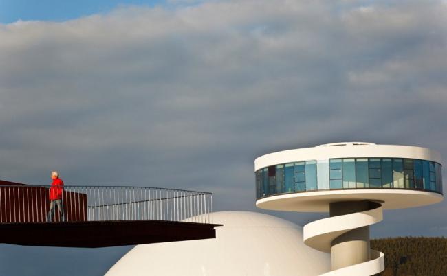 Международный культурный центр Оскара Нимейера. Фото с сайта zeit.de