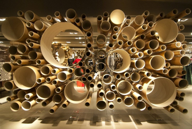 Модный павильон John Lewis © Lim / Grimshaw