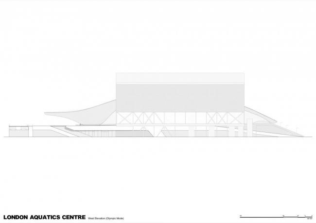 Олимпийский центр водных видов спорта © Zaha Hadid Architects