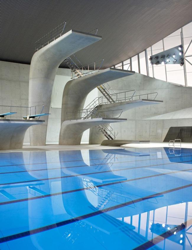 Олимпийский центр водных видов спорта © Hufton + Crow