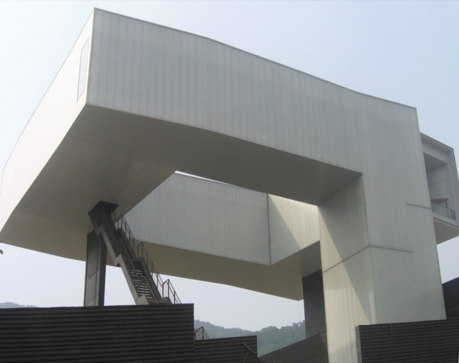 Музей искусства и архитектуры Нанкина © Steven Holl architects