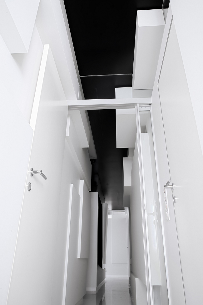 Интерьер квартиры на ул.Микояна © Архитектурное бюро «Тотемент/Пейпер»