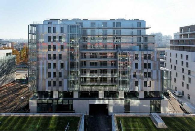 Комплекс социального жилья ZAC Claude Bernard © David Boureau