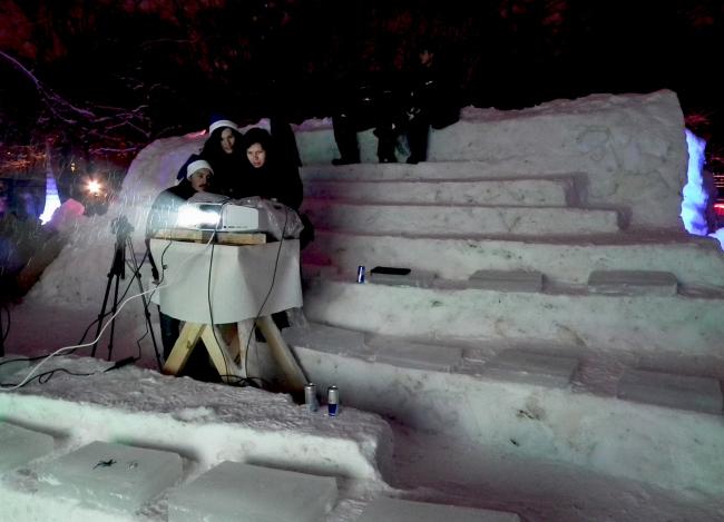 Команда АСФ ТюмГАСУ, (г.Тюмень, г. Сургут). Кинотеатр. MOROZ city, Москва, 2012.