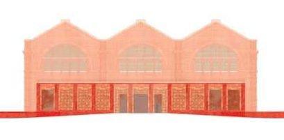 Музей детства. Фасад. Проект