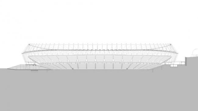 Национальный спортивный комплекс «Олимпийский» © gmp