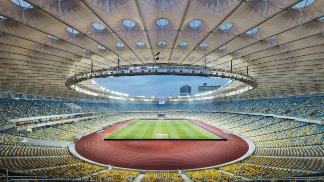 Национальный спортивный комплекс «Олимпийский» © Marcus Bredt