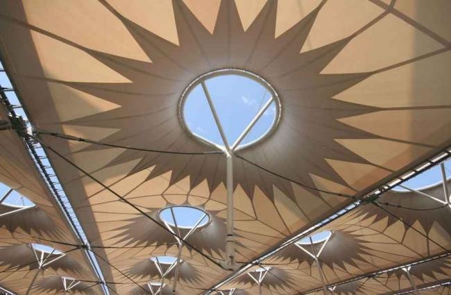 Национальный спортивный комплекс «Олимпийский» в процессе строительства. Фото с сайта nsc-olymp.com