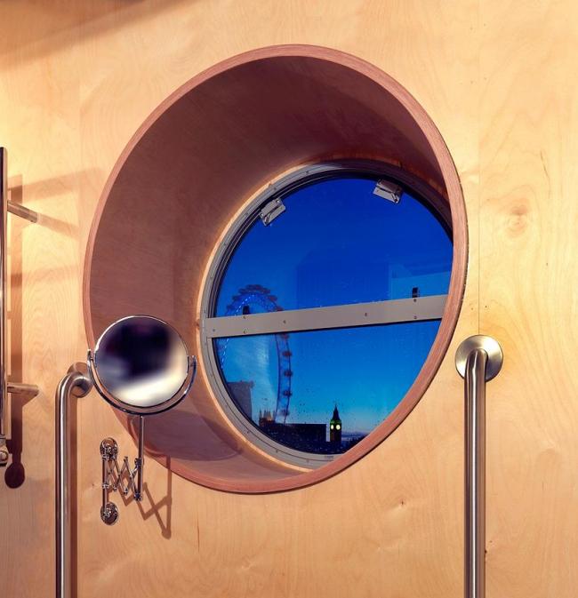 Павильон «Комната для Лондона». Окно ванной. Фото Charles Hosea/Courtesy of Living Architecture