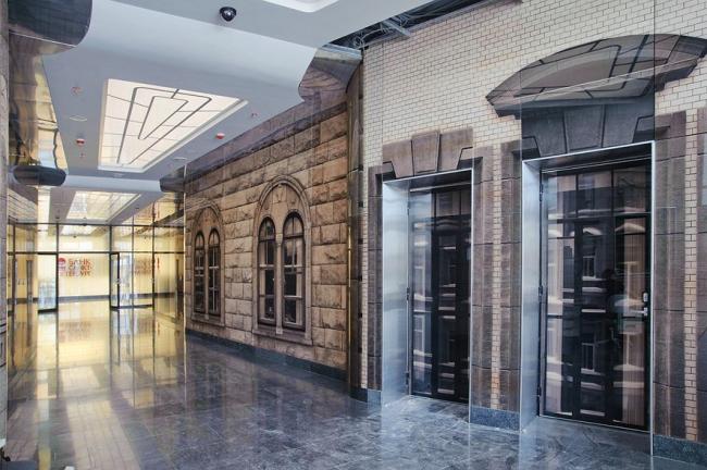 Интерьеры головного офиса ОАО «Банк Санкт-Петербург» © nps tchoban voss