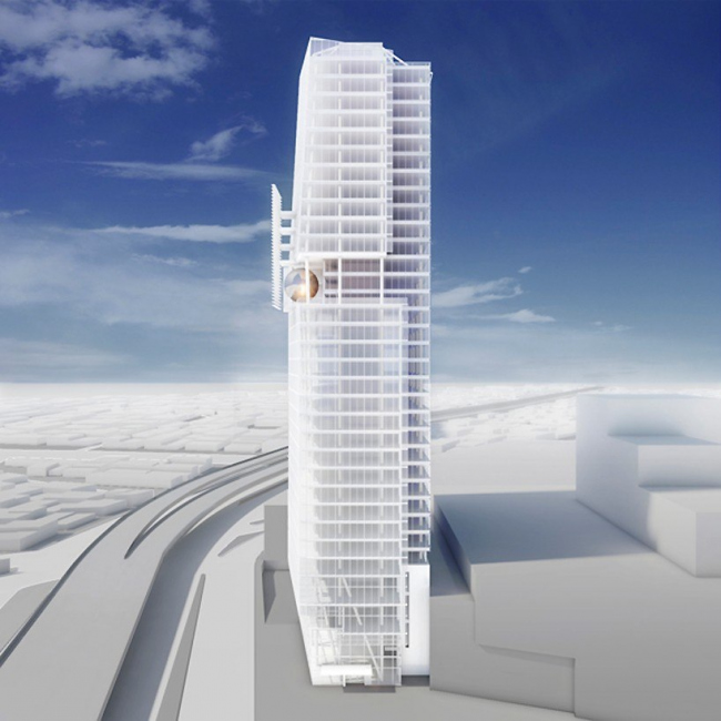 Офисная башня Mitikah © Richard Meier & Partners