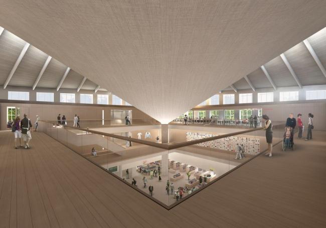 Музей дизайна в Институте Содружества © John Pawson Ltd