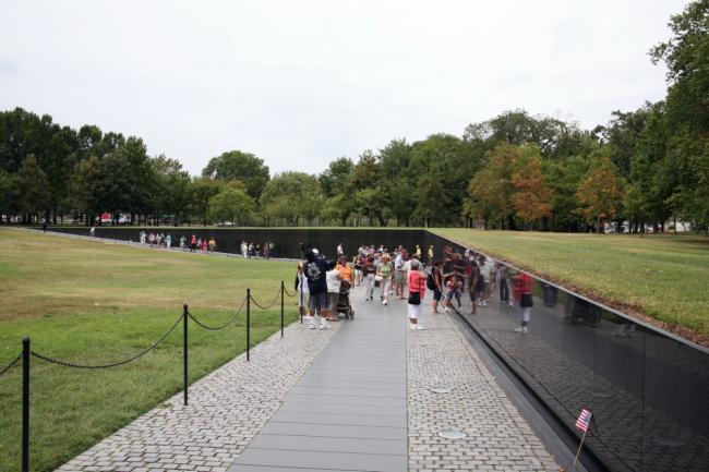 Мемориал ветеранов Вьетнама. Фото: Cliff via flickr.com. Лицензия CC BY 2.0