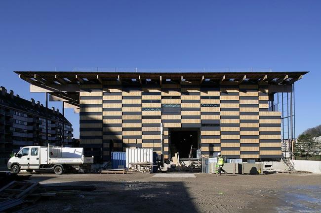 Центр искусств и культуры Безансона в процессе строительства © Nicolas Waltefaugle & Stephan Girard