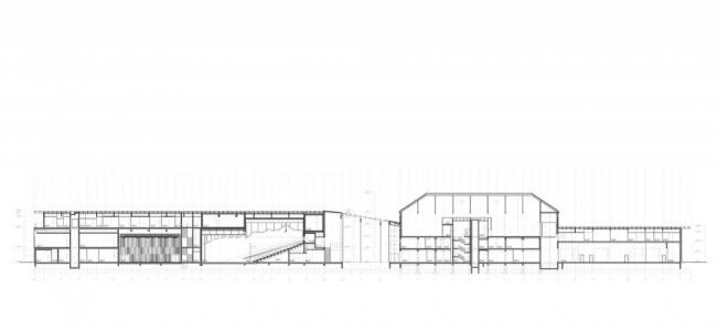 Центр искусств и культуры Безансона © Kengo Kuma & Associates