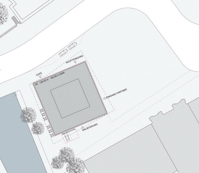 Здание ThyssenKrupp Haus © Schweger & Partner Architekten