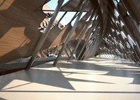 Мост-павильон для Всемирной выставки-2008