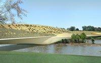 Мост-павильон для Всемирной выставки-2008. Конкурсный проект. 2005 год